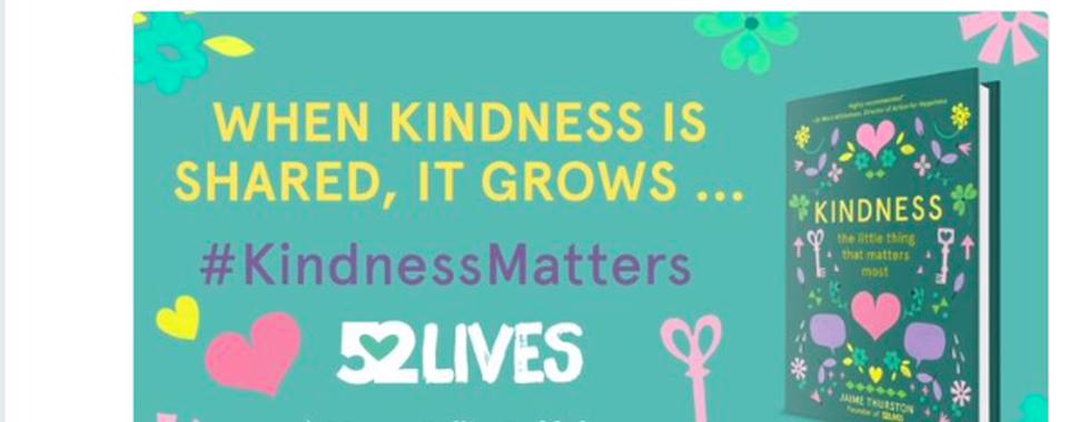 Celebs help kick off Kindness campaign