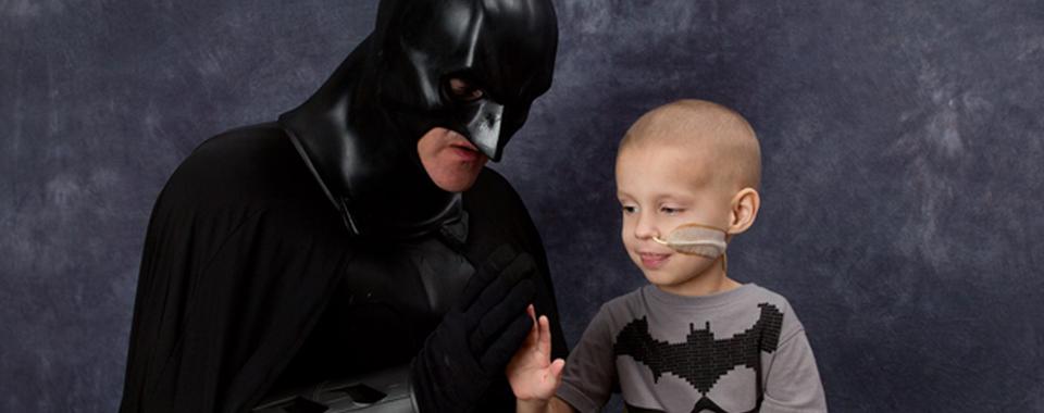 Zane meets Batman